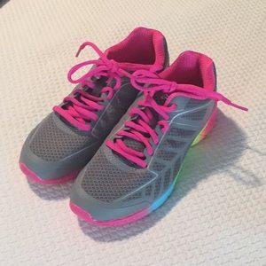 Girls new never worn FILA sneakers